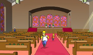Simpsons Church